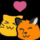 :blobfoxcatsnuggle: